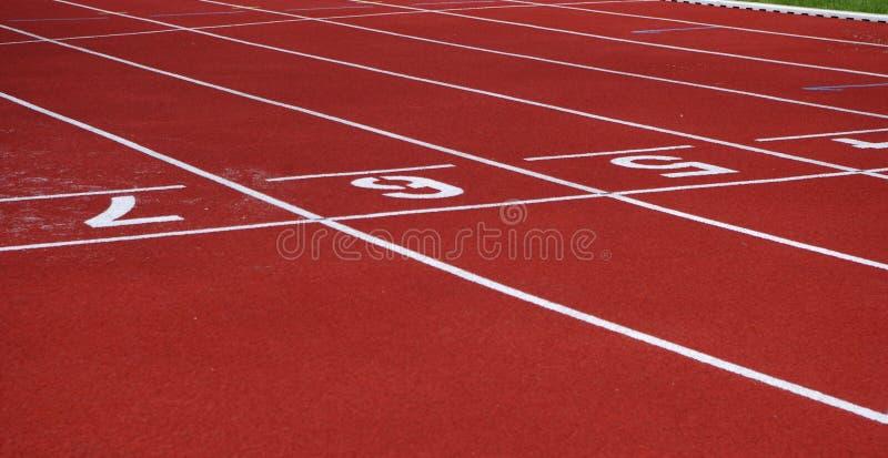 Jogging ślad powierzchnia zdjęcie stock