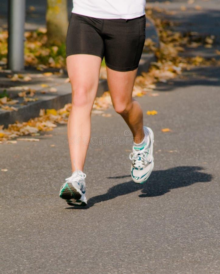 Jogging никакие игры стоковое фото