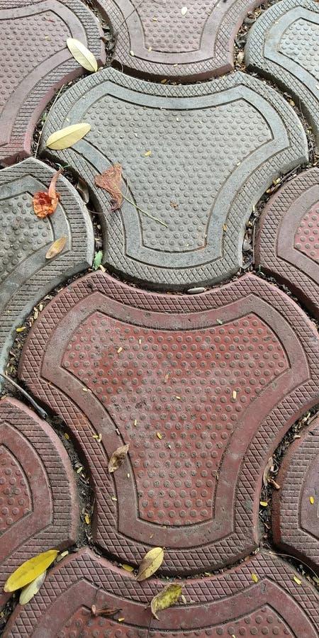 Jogging район на парке стоковая фотография