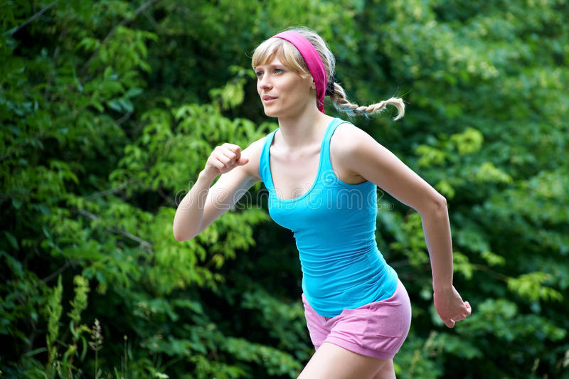 Download Jogging stock photo. Image of distance, active, female - 20731374
