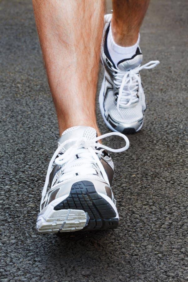 Jogging zdjęcie royalty free