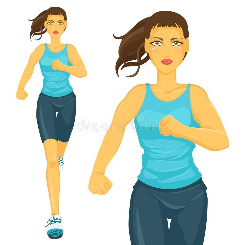jogging libre illustration