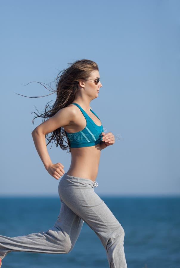 jogging stock foto's