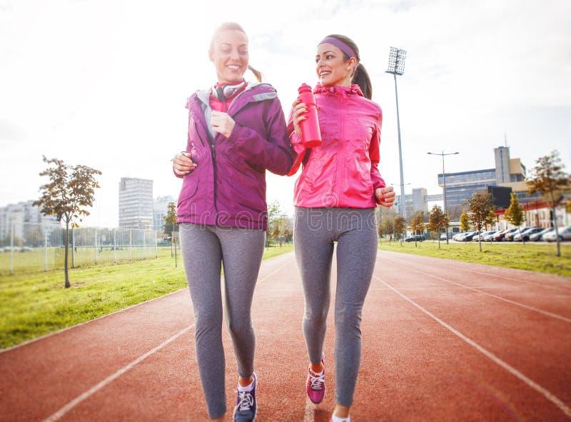 jogging stock afbeelding