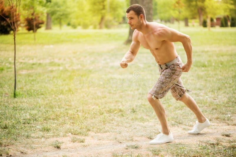 jogging royalty-vrije stock fotografie