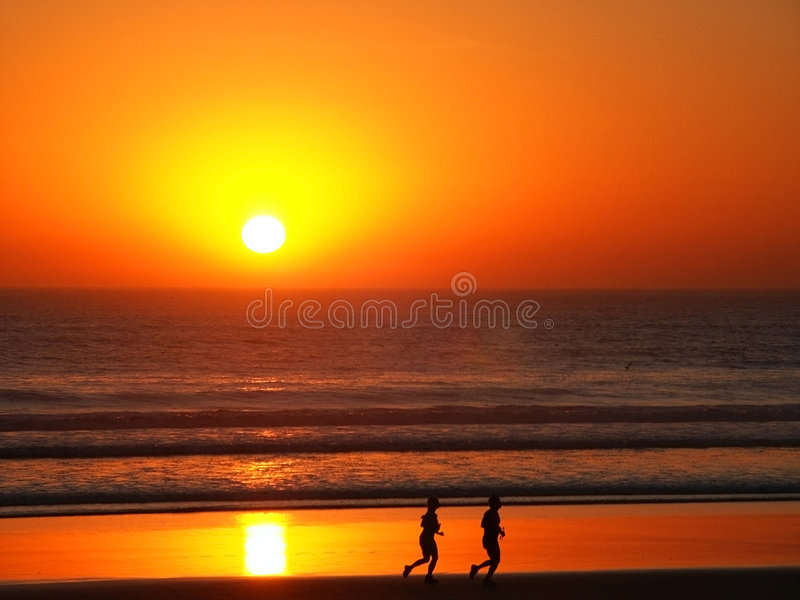 Download Jogging Couple stock image. Image of peace, relax, background - 270487