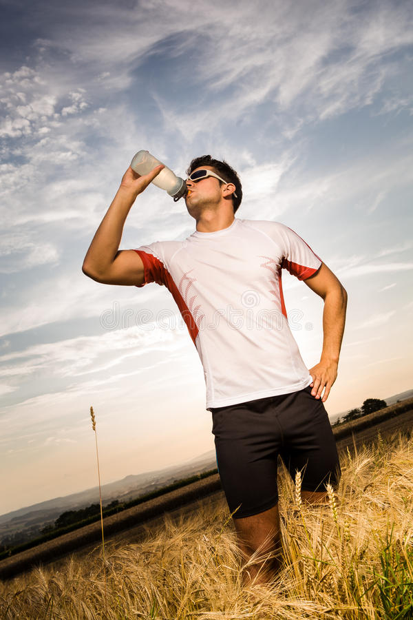 Download Jogging Through The Fields Stock Image - Image: 26481751