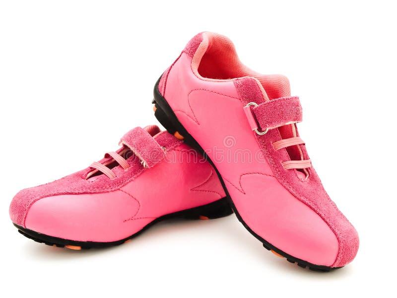 Jogging shoes stock photos
