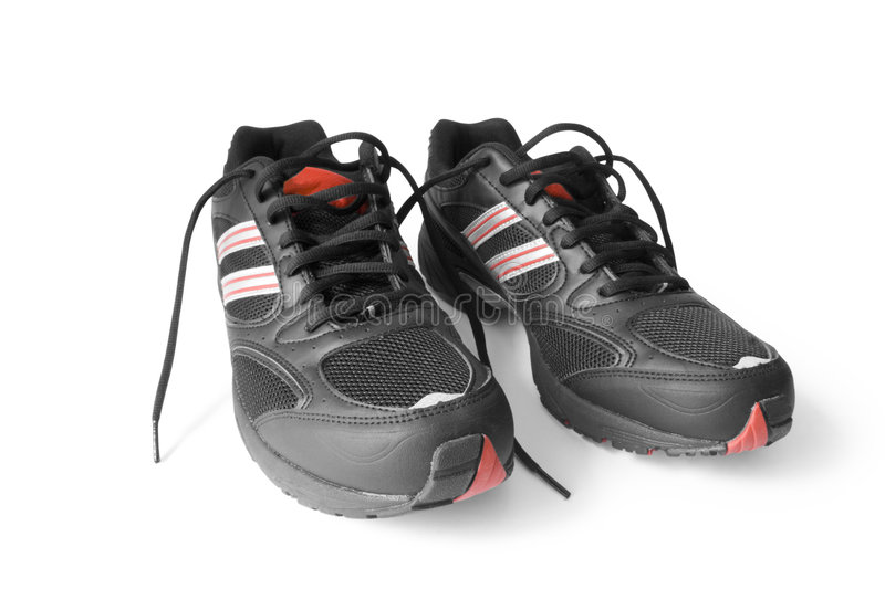 Download Jogging shoes stock photo. Image of protection, club, black - 2650376