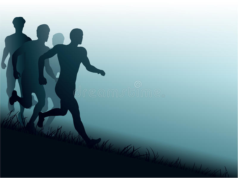 Download Jogging stock vector. Illustration of movement, body - 30442855