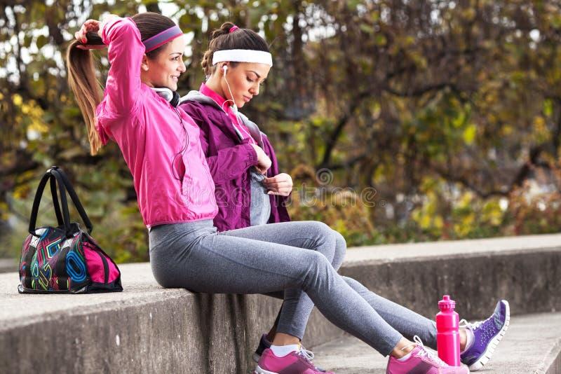 Jogging stock image