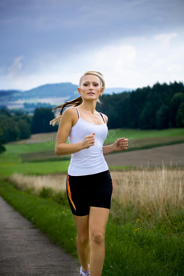 Download Jogging woman stock image. Image of running, people, competition - 16857485