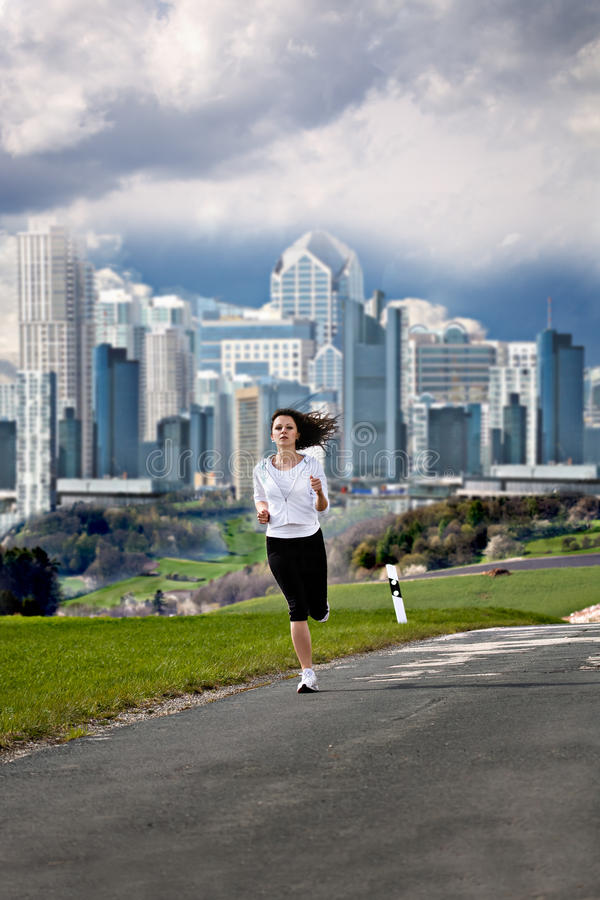 Download Jogging Woman Royalty Free Stock Images - Image: 27596509