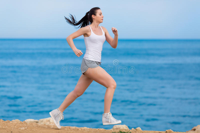Download Jogging stock image. Image of outdoors, lifestyle, exercises - 83706049