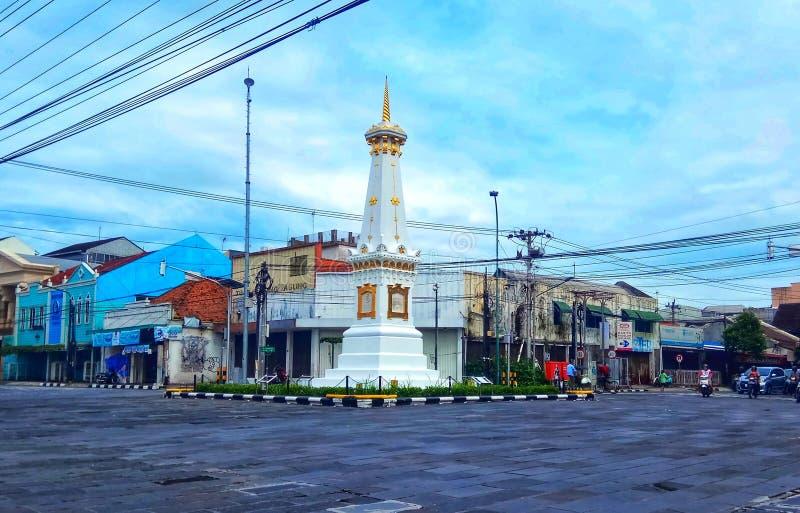 Jogja-Monument lizenzfreies stockbild