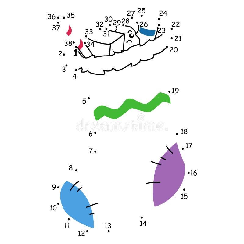 Jogo 137, a meia dos presentes ilustração stock