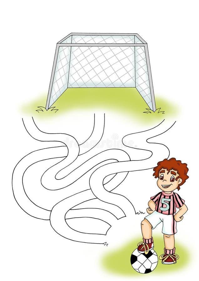 Jogo 3 - objetivo ilustração do vetor