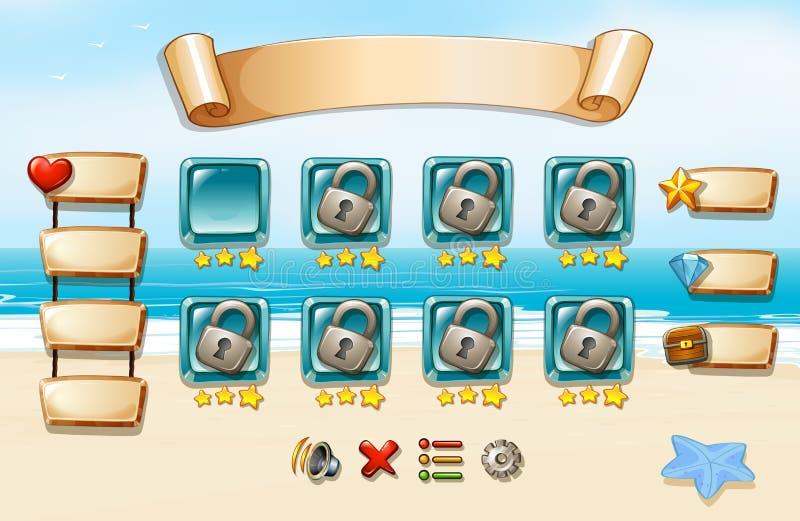 jogo ilustração stock