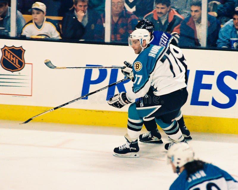 Jogo 1996 All-star do NHL fotografia de stock royalty free