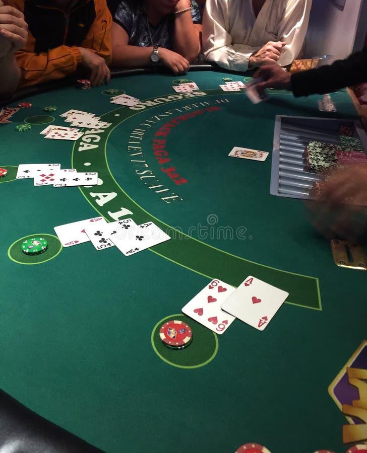 Jogo cards fotografia de stock royalty free