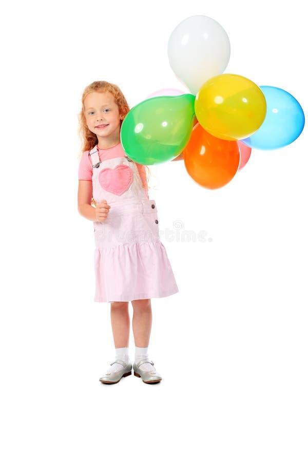 Jogo com balões imagens de stock royalty free