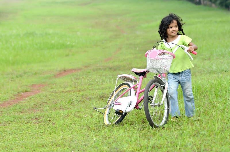 Jogo com bicicletas imagem de stock royalty free