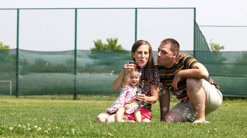 Jogo com bolhas foto de stock royalty free