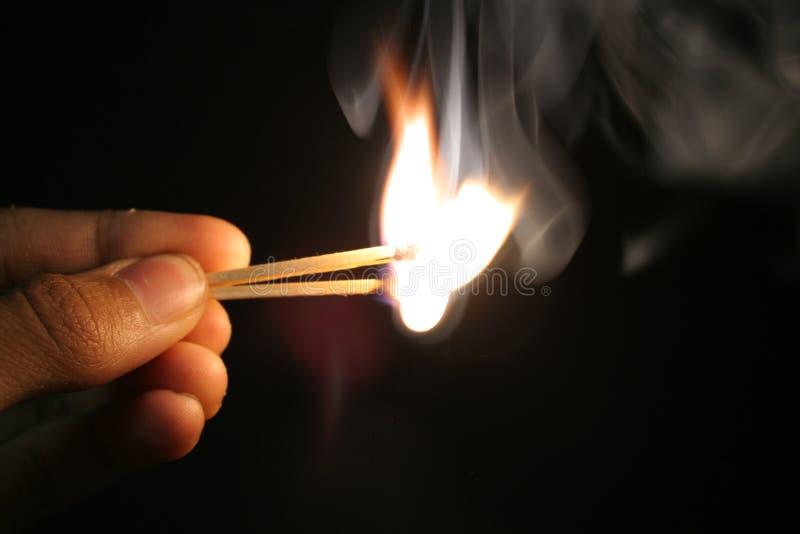 Jogo com incêndio fotos de stock royalty free