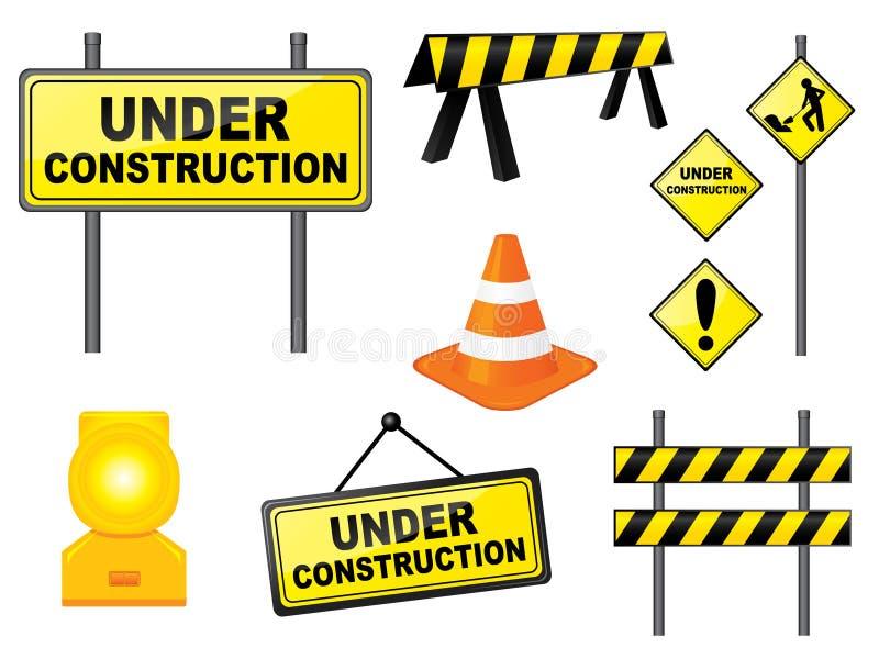 Jogo da construção ilustração stock