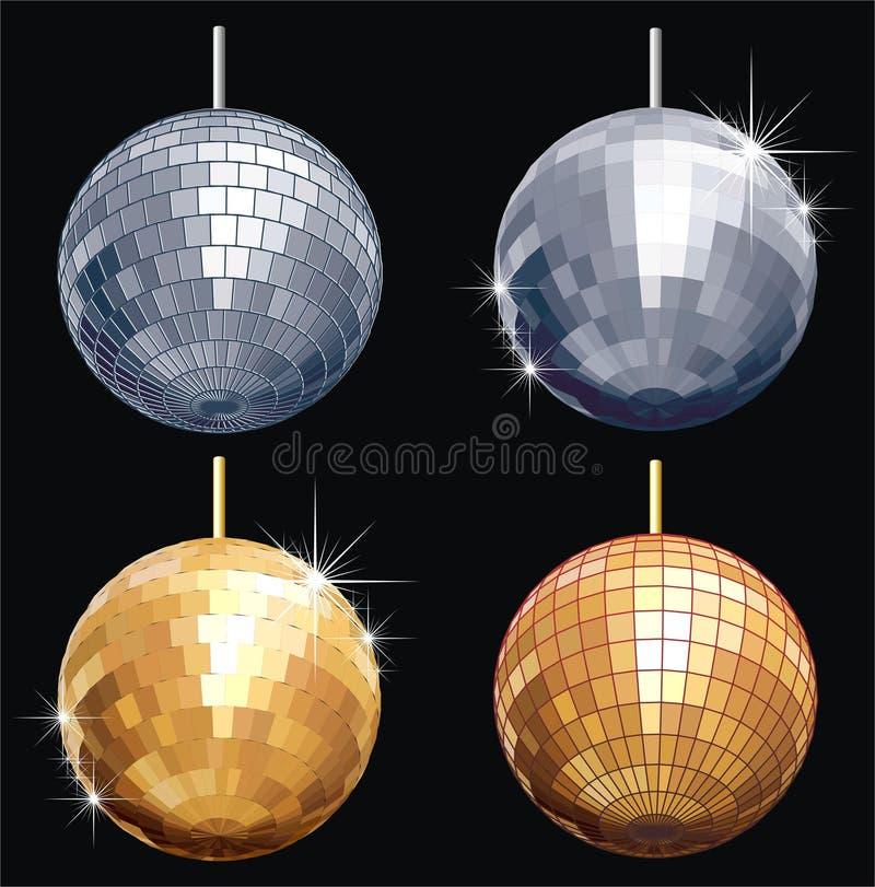 jogo da Disco-esfera ilustração royalty free