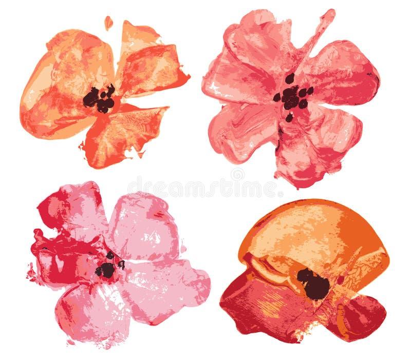 Jogo da flor ilustração royalty free