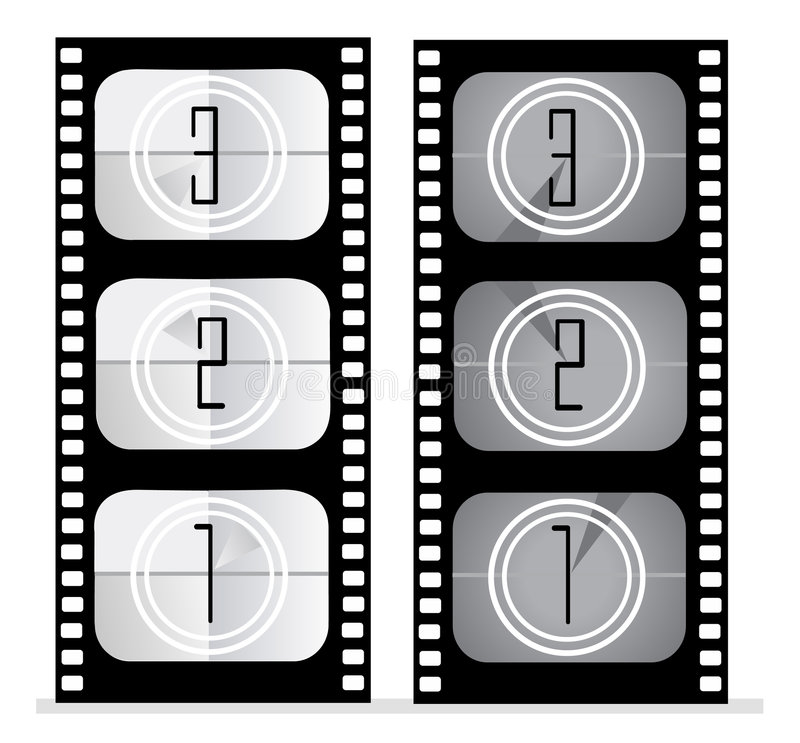 Jogo da película   ilustração do vetor