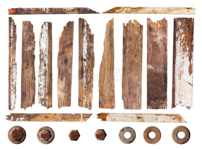 Jogo da prancha de madeira imagens de stock royalty free