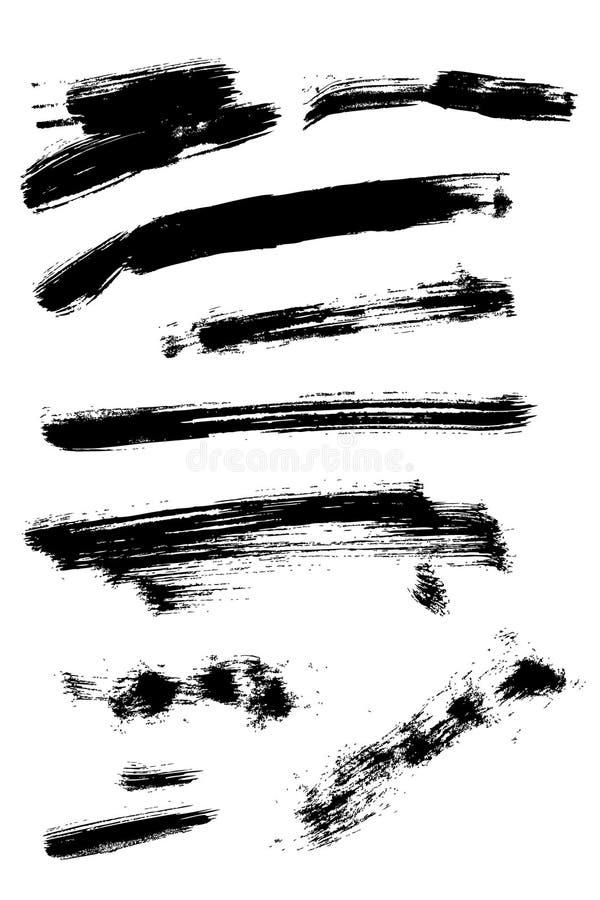 Jogo da tinta ilustração do vetor