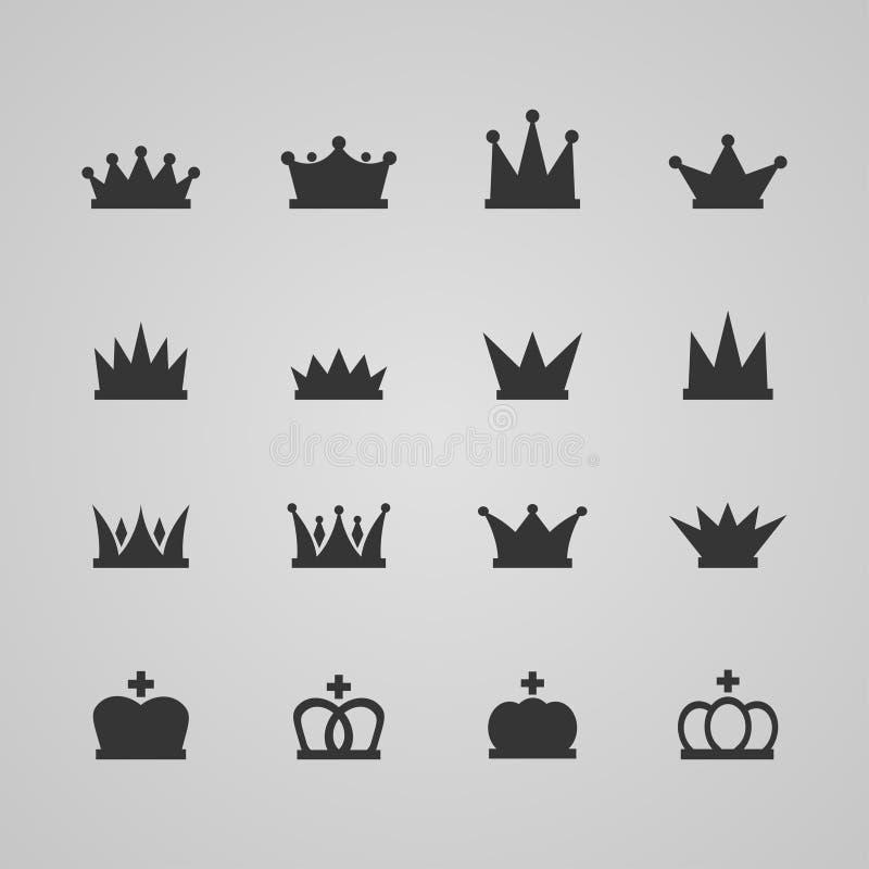 Jogo das coroas ilustração royalty free