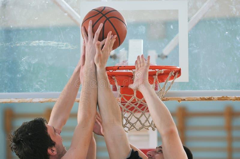 Jogo de basquetebol foto de stock royalty free