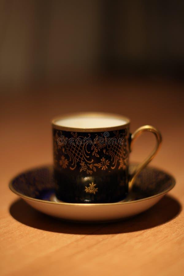 Jogo de café luxuoso imagens de stock royalty free