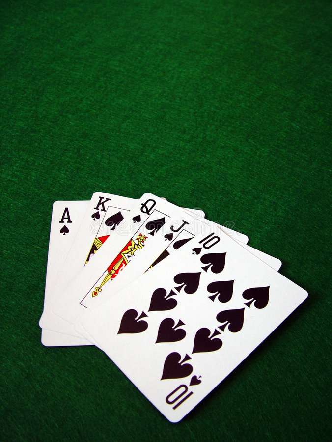 Jogo de cartão imagens de stock