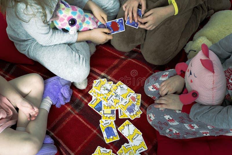 Jogo de cartas que é mim fotos de stock royalty free