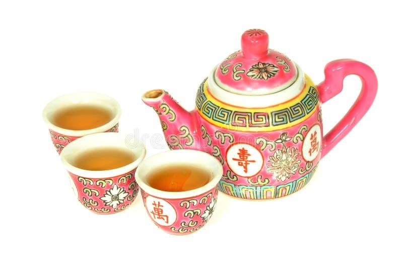 Download Jogo de chá chinês imagem de stock. Imagem de saudável - 16855409