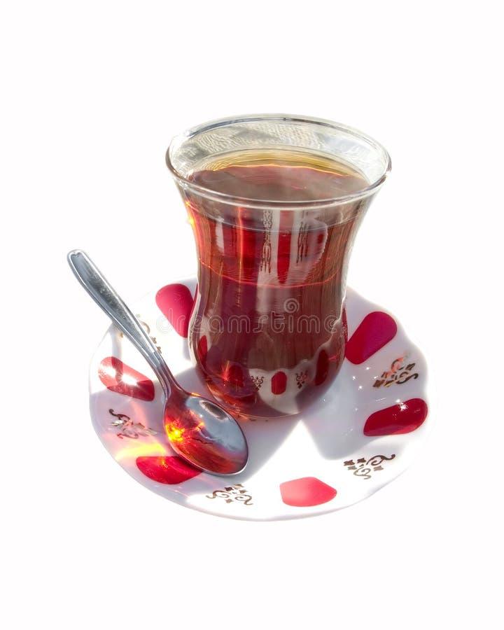 Jogo de chá turco autêntico imagem de stock royalty free