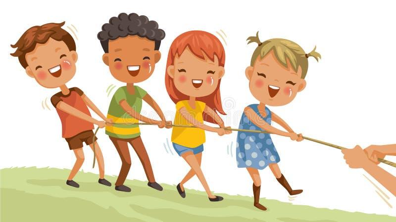 Jogo de Childs ilustração do vetor