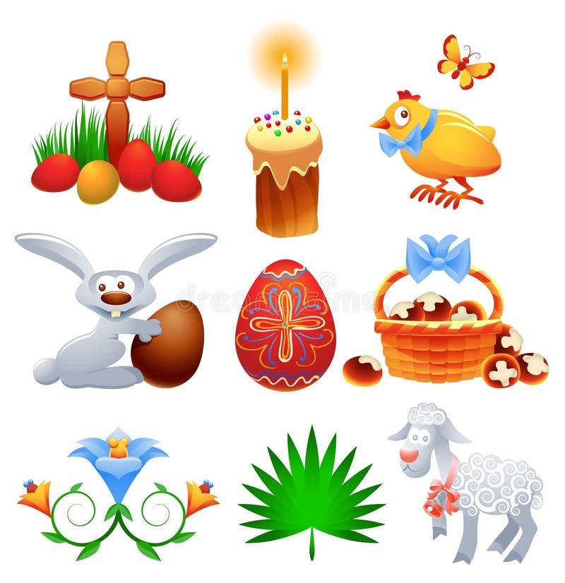 Jogo de Easter ilustração stock