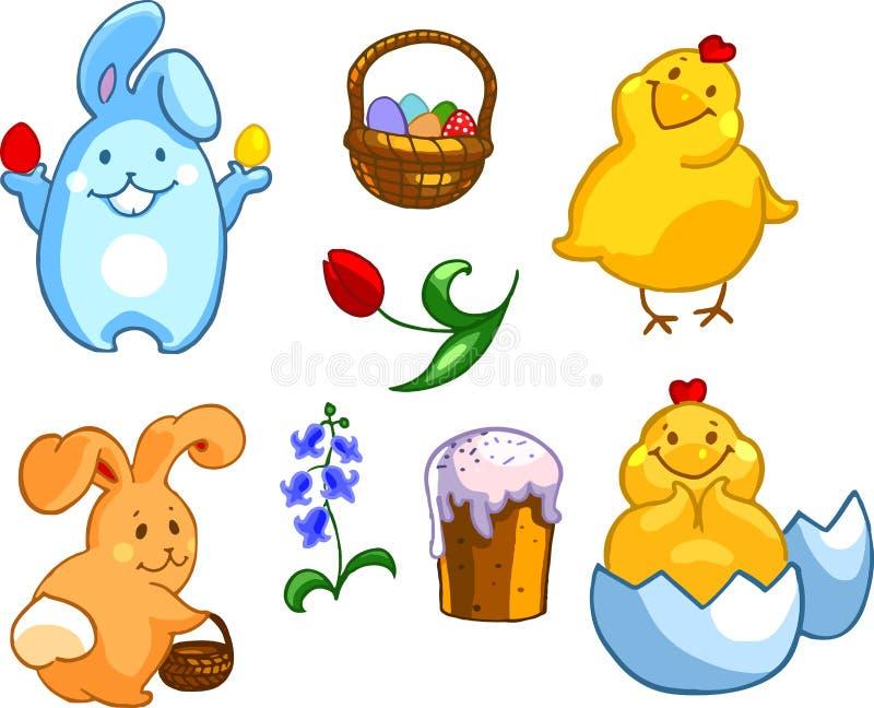 Jogo de Easter foto de stock