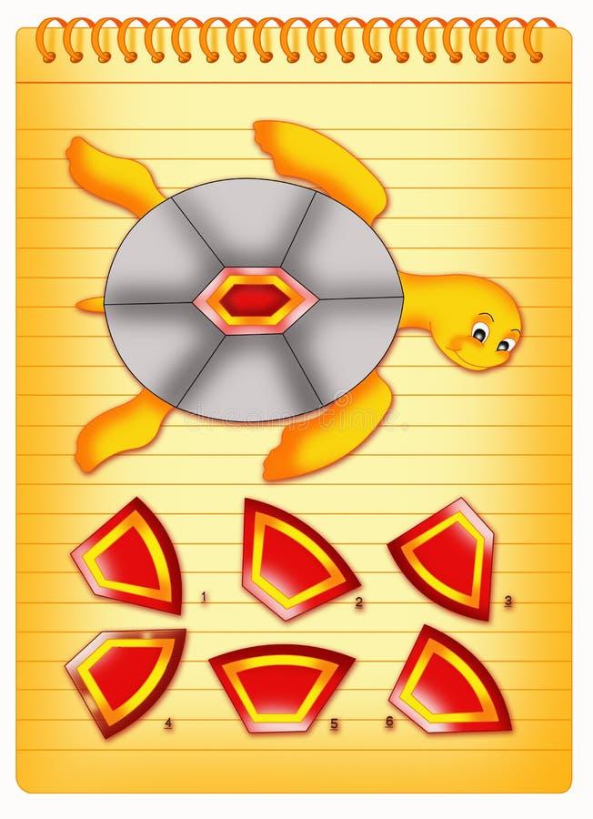 Jogo de escudo ilustração do vetor