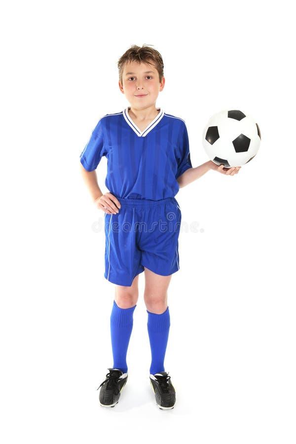 Jogo de futebol fotografia de stock