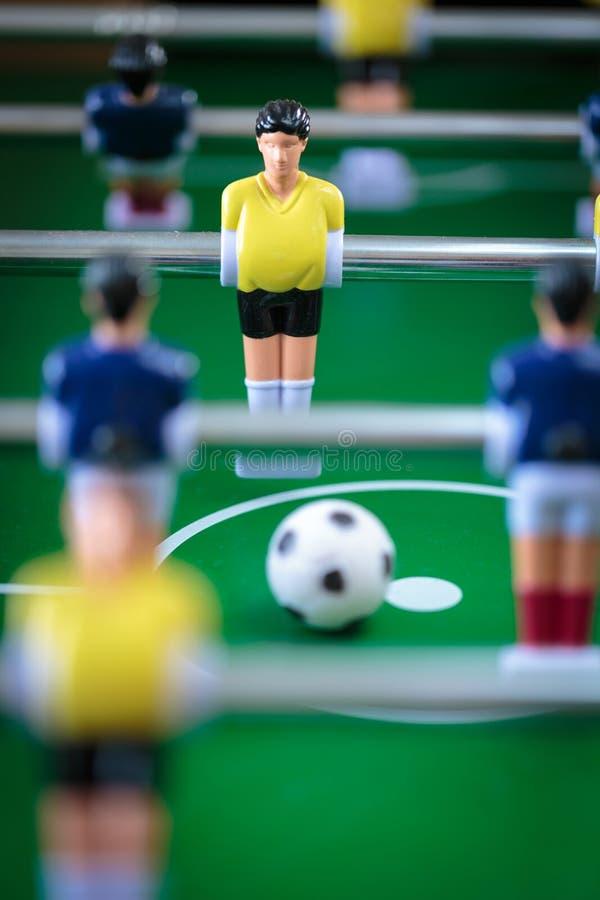 Jogo de futebol do retrocesso fotos de stock royalty free