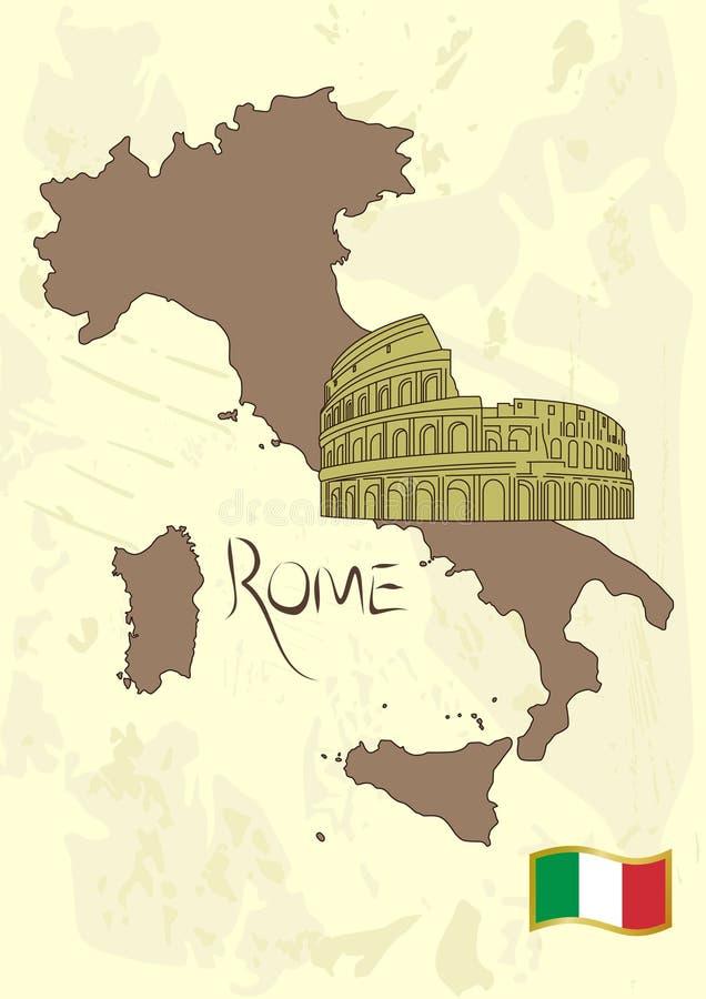 Jogo de Italy ilustração do vetor