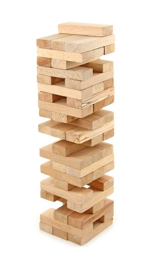 Jogo de jogo da torre foto de stock royalty free
