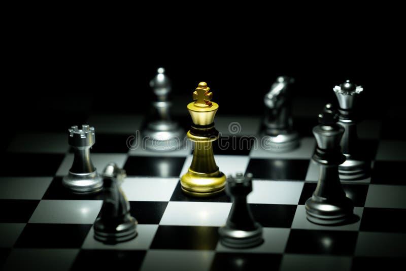 Jogo de mesa da xadrez foto de stock royalty free